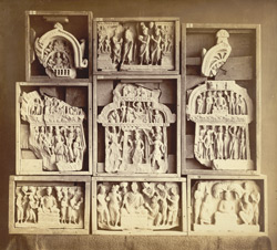 Buddhist sculptures from Jamal-Garhi. 1003989